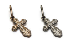 Orthodox Christian cross Stock Photo