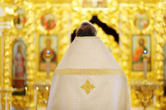 Orthodox christian priest Stock Images