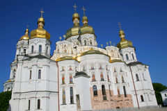 Orthodox Christian Temple of Kiev Pechersk Lavra Stock Image