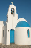 Orthodox Christian white church Stock Images