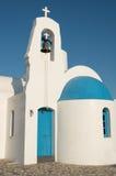 Orthodox Christian white church Stock Images