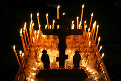 Orthodox christmas mass Royalty Free Stock Photos