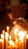 Orthodox christmas mass Royalty Free Stock Images