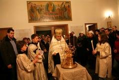 Orthodox christmas mass Royalty Free Stock Photography