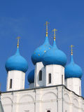 Orthodox church. Cupola of orthodox church on a background of sky Stock Photography
