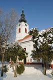 Orthodox church. Serbian orthodox Christian church in Zrenjanin, Vojvodina, Serbia Stock Photo