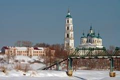 The orthodox church Royalty Free Stock Photos