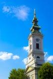 Orthodox church. Saborna crkva belgrade,orthodox church in belgrade Royalty Free Stock Images