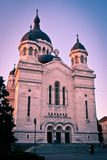 Orthodox Church. Image showing the Orthodox Church in Cluj-Napoca before the evening service royalty free stock photos