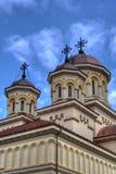 Orthodox Church. Orthodox cathedral in Alba Iulia, Romania royalty free stock photos