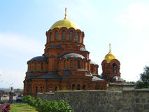 Orthodox Church. In the novosibirsk city Stock Images
