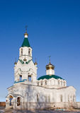 Orthodox Church. In a middle Russia, winter Stock Images