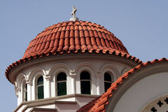 Orthodox church. Roof detail Royalty Free Stock Photos
