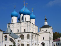 Orthodox church. On a background of sky Stock Images