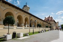 Orthodox church in Alba Iulia - Transylvania Royalty Free Stock Photography