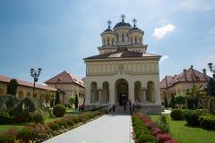 Orthodox church in Alba Iulia - Transylvania Stock Photo