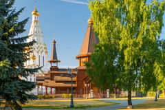 Orthodox Church of All Saints in Minsk Stock Image