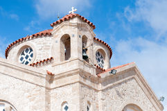 Orthodox church. Orthodox ancient church in Cyprus. St Georges church in Paphos area Stock Photo