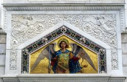 Orthodox Church Angel Bible Icon Royalty Free Stock Images