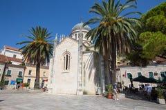 Orthodox Church of Archangel Michael in Herceg Novi, Montenegro Royalty Free Stock Photo