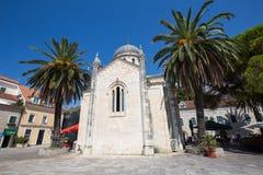 Orthodox Church of Archangel Michael in Herceg Novi, Montenegro Stock Images