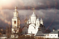 Orthodox church architecture Stock Images