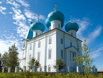 Orthodox church.Arkhangelsk Stock Photography