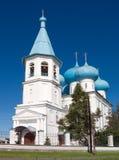 Orthodox church.Arkhangelsk Royalty Free Stock Photography