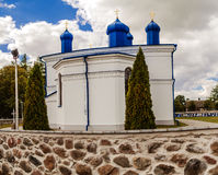 Orthodox church of Assumption in Kleszczele Royalty Free Stock Image