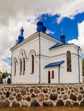 Orthodox church of Assumption in Kleszczele Stock Images