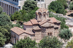 Orthodox Church Athens Greece Stock Photos