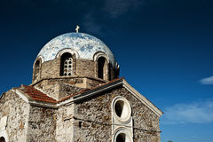 Orthodox church in Athens, Greece stock photography