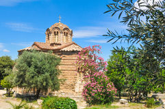 Orthodox church in Athens, Greece Stock Photos