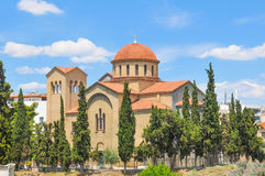 Orthodox church in Athens, Greece Stock Photo
