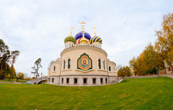 Orthodox church at autumn Royalty Free Stock Photography