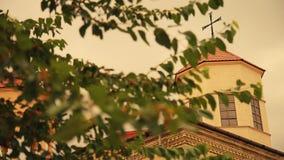 Orthodox Church baptism, orthodox, religion stock footage