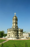 Orthodox church in baroque style Royalty Free Stock Images