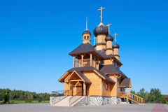 Orthodox church in Belarus Royalty Free Stock Photography