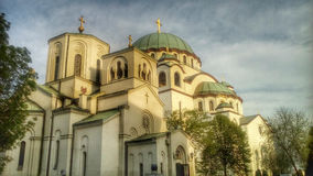 Church of Saint Sava,Orthodox Church Belgrade Serbia Royalty Free Stock Image