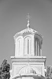 Orthodox church bell tower Royalty Free Stock Image