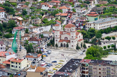 Orthodox church in Berat, Albania Royalty Free Stock Images