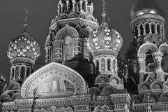 Orthodox church in black and white Royalty Free Stock Photo