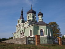 Orthodox church, Bończa, Poland Royalty Free Stock Image