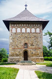 Orthodox church in Borzesti Romania Europe Royalty Free Stock Photo