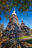 Orthodox church in Brunary, Poland Royalty Free Stock Images