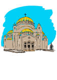 Orthodox Church building Stock Images