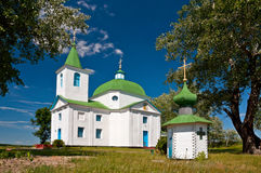 Orthodox Church built in 1831 Royalty Free Stock Photos