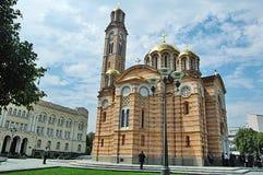 Orthodox Church in Banja Luka, Bosnia Stock Photo