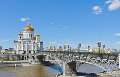 Orthodox Church of Cathedral of Christ the Saviour Royalty Free Stock Photography