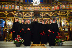 Orthodox church choir Royalty Free Stock Images